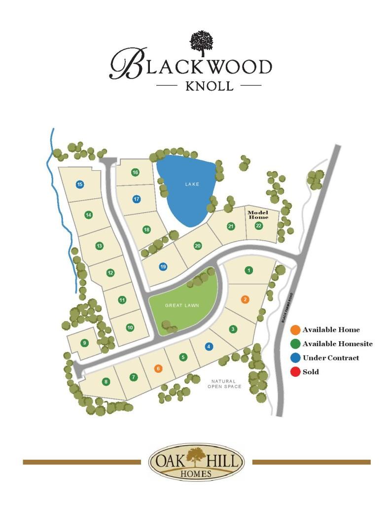 Blackwood Knoll Site Plan Oak Hill-jpeg